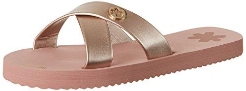 flip*flop Original Cross Metallic 2 - Sandalias Mujer Pink (ballet)