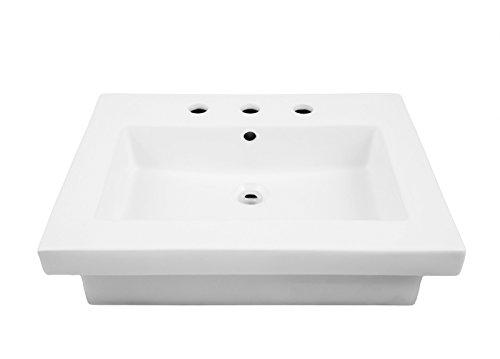 Console Bathroom Lavatory Sink - 5