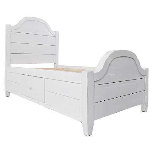 Jofran: 1673-80818286KT, Chesapeake, Twin Storage Bed, 39