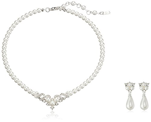 ACCESSORIESFOREVER Wedding Jewelry Beautiful Necklace product image
