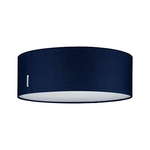 Paulmann Mari 70951 Plafonnier en tissu pour salon et couloir Max. 2 x 20W E27 Bleu