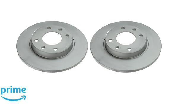Ate 24.0110-0187.1 Rotores de Discos de Frenos Set de 2: Amazon.es: Coche y moto