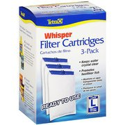 Tetra Whisper Large Aquarium Filter Cartridge 3pk (Cartridge 3pk Large Box)