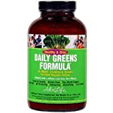 Aloe Life - Healthy & Slim Daily Greens Formula Powder-11 Oz.-2 Pack