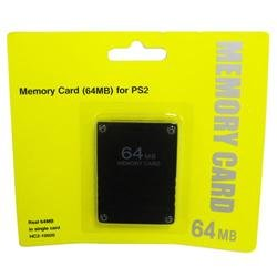 hossen New 64MB 64 MB Memory Save Card For PlayStation 2 PS2 Console Game