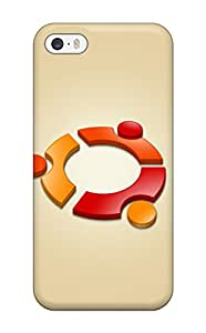 New Style Premium Case With Scratch-resistant/ Ubuntu Logo Case Cover For Iphone 5/5s 7619228K70252291