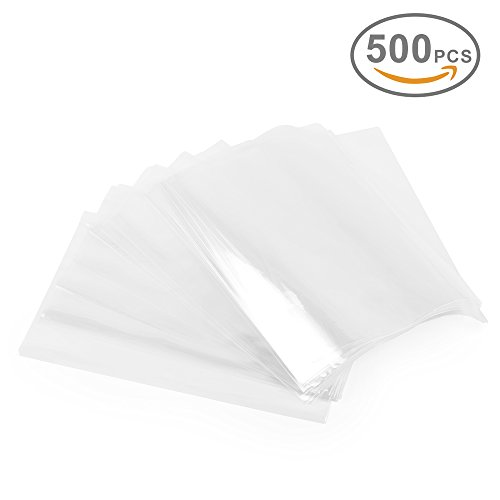 Pvc Shrink Bags (Metronic Shrink Wrap Bags for Soaps, Candles, Jars and Small Gifts ,Clear Heat Shrink Wrap/Shrink Film Wrap 6 X 6 Inch,500 Pieces)