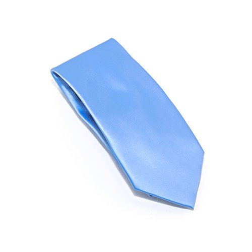 100% Silk Satin Solid Color Tie (Light - 2 Mail Day Priority Rates