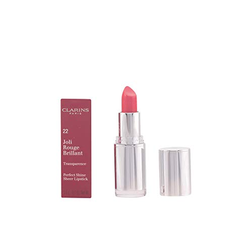 - Clarins Joli Rouge Brillant (Perfect Shine Sheer Lipstick) - # 22 Coral Dahlia 3.5g/0.1oz