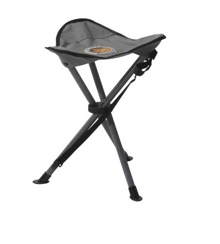 Grand Canyon Stahl 3-Bein-Hocker - Stahl, faltbar, grau/schwarz, 308009