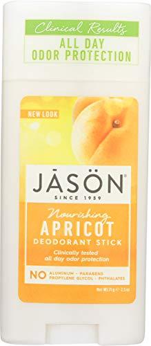 Jason Apricot Deodorant, 2.5 oz