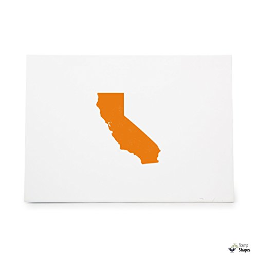 California State , Rubber Stamp Shape great for Scrapbooking, Crafts, Card Making, Ink Stamping Crafts, Item 1321525 ()