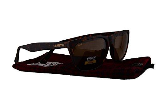 Smith Tioga Sunglasses Tioga Woolrich Matte Vintage Havana w/Polarized Brown 57mm Lens MY1 - Smith Returns Optics