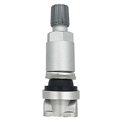Germban 4pcs TPMS Tire Pressure Sensor Valve Stem Repair Kit Fits for Peugeot Dodge Land Rover: Automotive