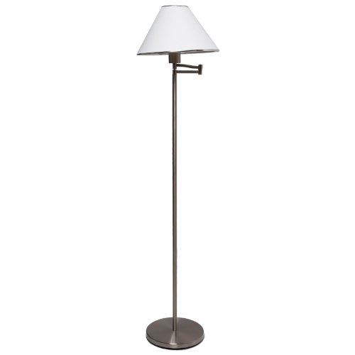 Boston Harbor TL-AF-8008 SWING Arm Floor Lamp, 19