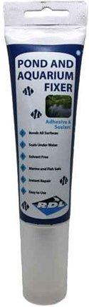 RDL Russetts Developments Ltd Pond & Aquarium Fixer 80ml Adhesive Sealant Glue Black Waterproof Bond