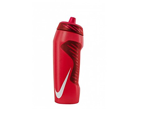 Nike Hyperfuel Water Bottle 24oz, (Red/White)