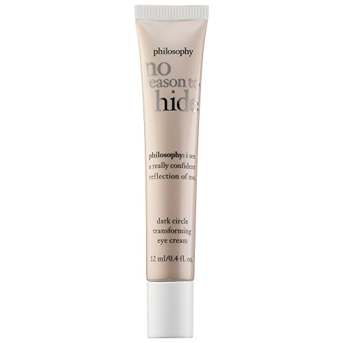 Philosophy No Reason To Hide Dark Circle Transforming Eye Cream, 0.4 Ounce