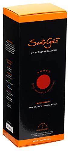 Café em cápsulas SANTO GRÃO Monge com 10 cápsulas