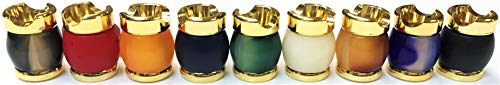 (Lot of 4 Marble Series Cigarette Snuffers Instant Cigarette Extinguisher Vintage)