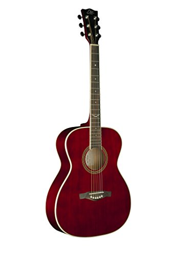 EKO Guitars 06217123 NXT Series Auditorium Acoustic Guitar - Wine Red Wine Red Guitar