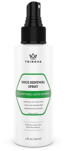 TriNova Natural Shoe Deodorizer, 4 oz