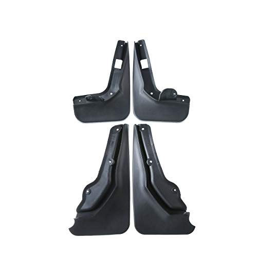 YHTAUTO Set of 4 Mud Flaps Splash Guard for Mercedes-Benz C180 C200 C250 C300 W204 Sedan Excluding Sport Model ()