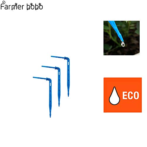 MoMA 20 Pcs Drip Emitter Curved Arrow Micro Flowers Drops Water Saving Practical Garden Micro Drip Irrigation Equipment