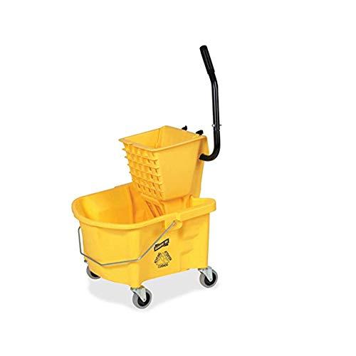 splash guard mop bucket wringer - 5