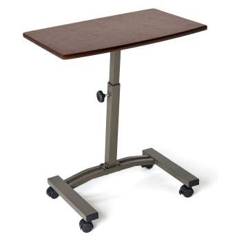 Amazon Com Seville Classics Mobile Laptop Desk Cart Home