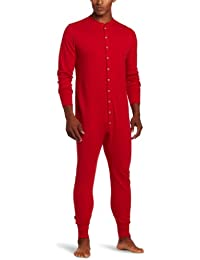 Men's Mid Weight Double-Layer Thermal Union Suit