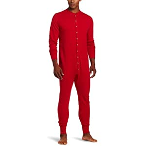 Duofold Men's Mid Weight Double-Layer Thermal Union Suit
