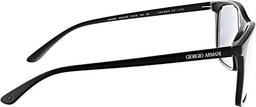 Negro Gafas Hombre Armani de Black Lightgreymirrorblack para 50426G 57 0AR8084 Sol Matte xqw0Rpq