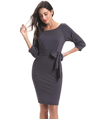 de noche Vestido L mujer para Elegante Axqw60TZ5Z