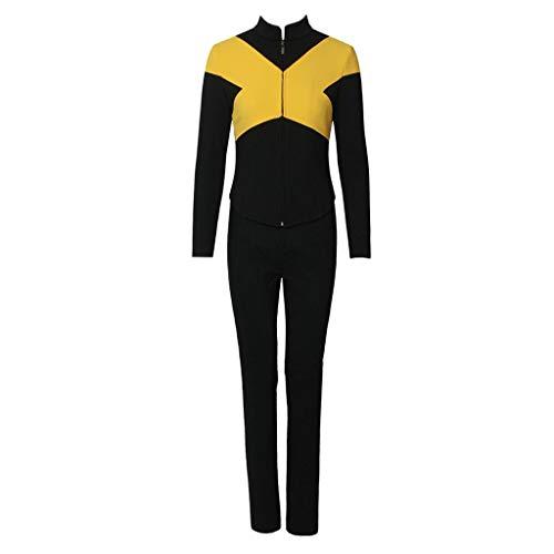 CosplayDiy Women's Suit for X-Men Dark Phoenix Mystique Cospaly Costume XXL -