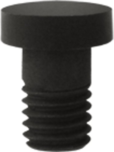 Deltana Solid Brass Hinge Extended Button Tip (Set of 10) (Oil Rubbed ()