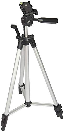 GDP 330-A Long Lightweight Aluminum 53-inches Tripod Stand for DSLR Camera Gopro Action Digital Camera Smartphone Mobile Phone Foldable Tripod