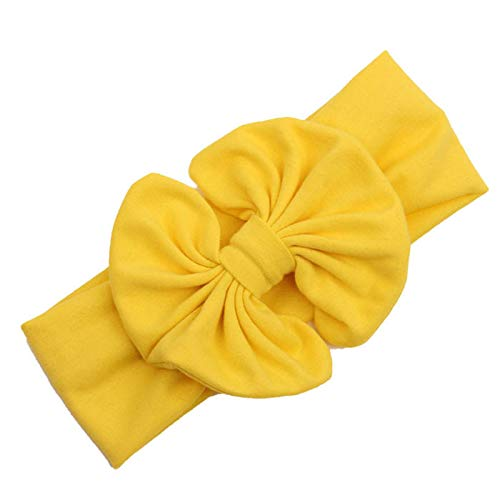 ❤️ Mealeaf ❤️ 2015 Big Bowknot Baby Girls Cotton Headband Children Kids Head Wraps Accessories(YL,)