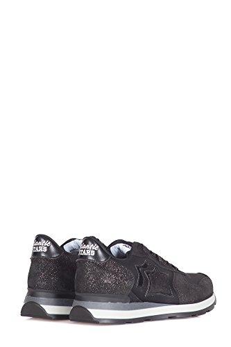 GLN Atlantic Nero Vega Mujer Stars Sneakers 81N Nero Veg qzqPX