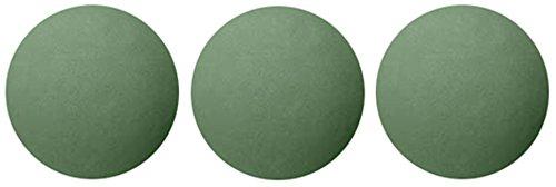 Oasis 3-inch Floral Foam Sphere - (3) Pack