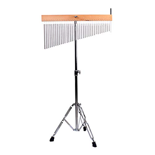 SDENSHI Chimes Medium Top Bar Chimes with Metal Stand-for a Desk or Table for Enhancing Choir Music Or Praise
