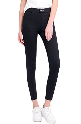 LANBAOSI Women's Slim Fit Pencil Pants Elastic Waist Jeggings Tights Leggings by LANBAOSI