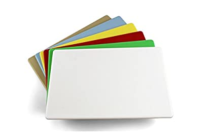 Commercial Plastic Cutting Board, NSF - 18 x 12 x 0.5 inches