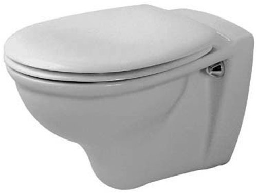 Duravit 0207090000 Darling Wall Mounted Toilet, White (Bowl Only)