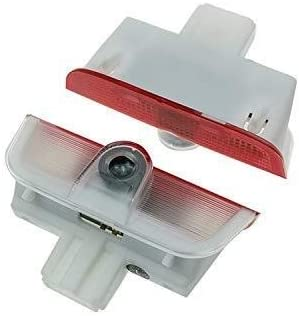 Size : For Porsche logo 2pcs Wireless Led Car Door Light Courtesy Logo Ghost Shadow Lamp For All models Projector Light