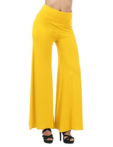 Yellow Ankle Pants - 6