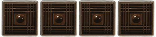 Shepherd Hardware 2″ Caster Cups – 4 Pack