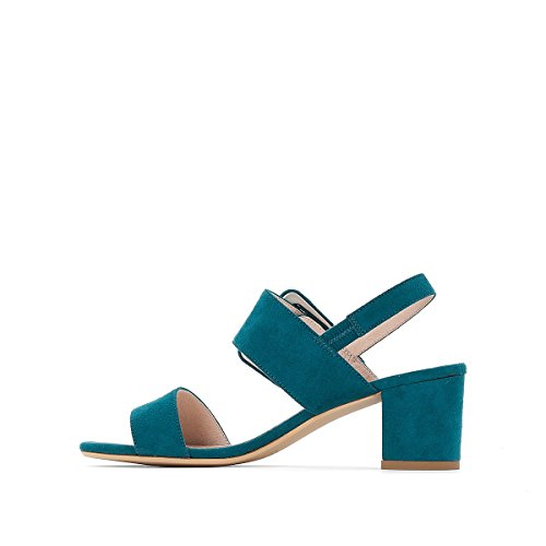 La Collections Buckle Sandals Redoute Womens Green with Detail 55UWrnxcR