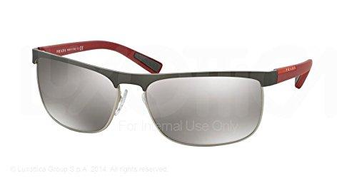 Prada Linea Rossa PS54QS, gafas de sol para Hombre, Gris ...