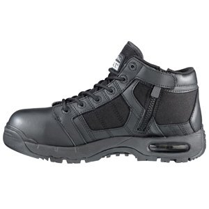 Original S.W.A.T. Men's Metro Air 5 Inch Side-zip Safety Tactical Boot, Black, 9 D - 5